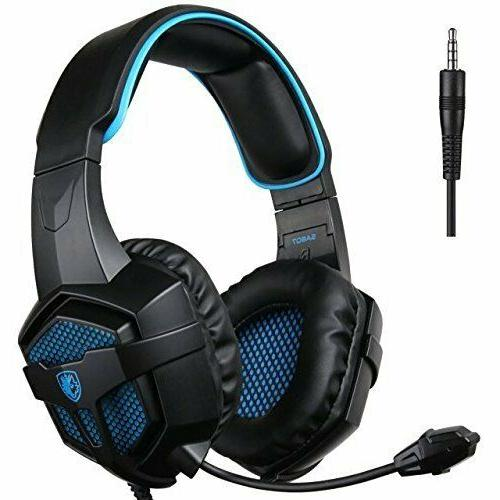 gaming headset for ps4 pc noise isolation
