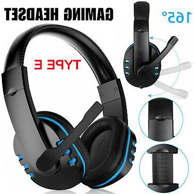 9 Style Pro Gamer Gaming Headset For One Laptop Computer