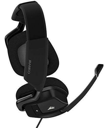 CORSAIR USB Headset Dolby Surround Headphones for Discord - 50mm Drivers - Carbon