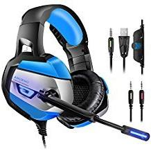 Gaming Headset for PS4, PC, Xbox One, ONIKUMA Noise Cancelli