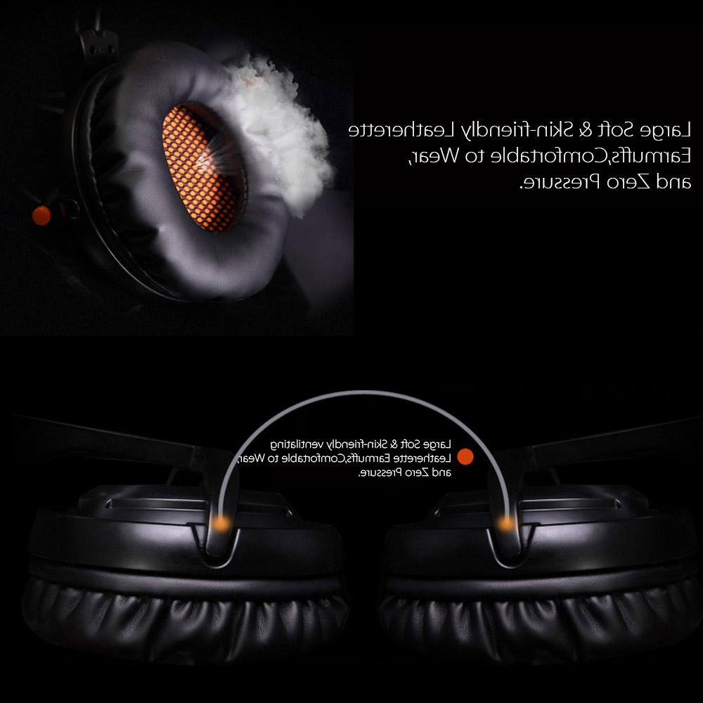 SADES A6 Stereo <font><b>gaming</b></font> headphones game with mic Voice control for laptop