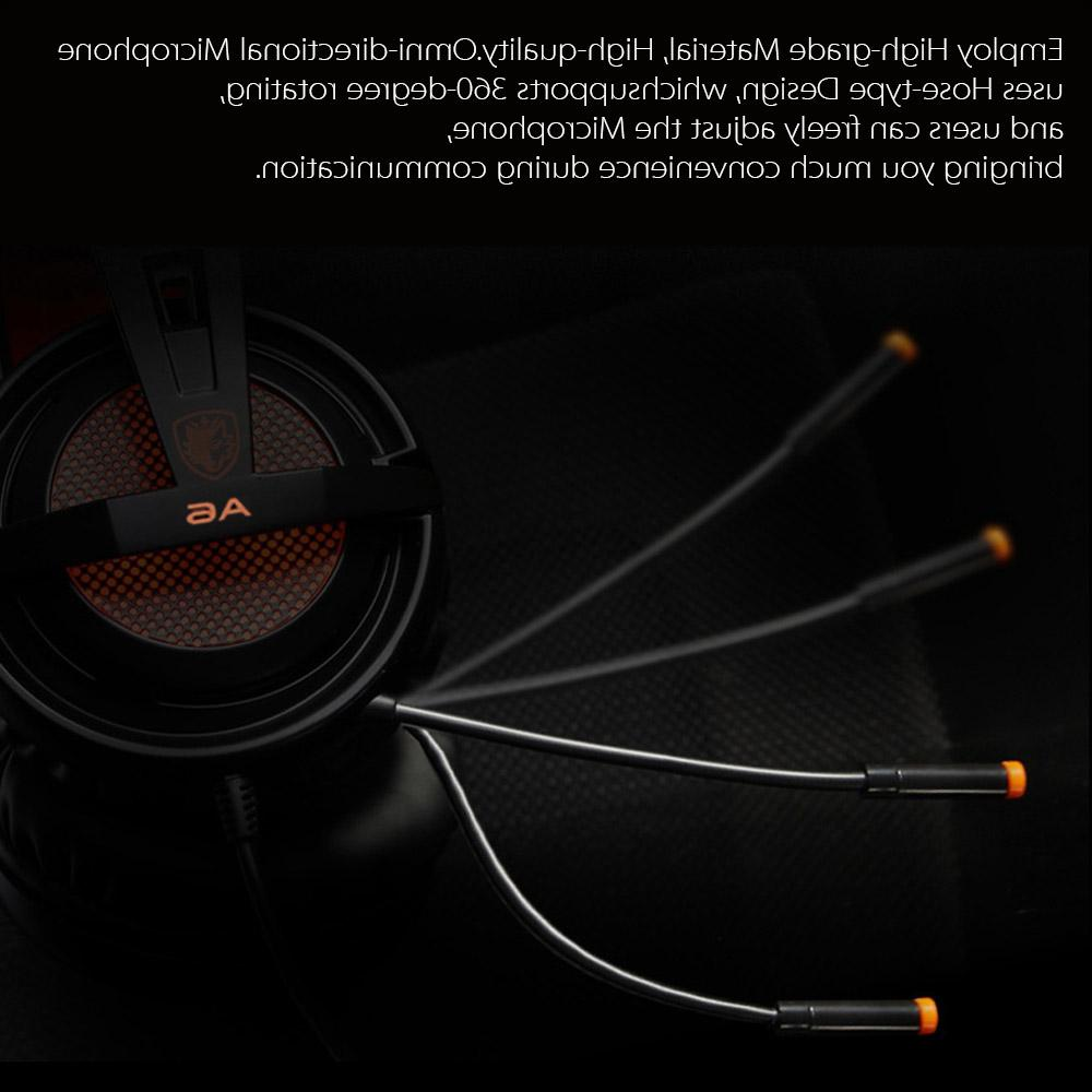 SADES Stereo game <font><b>headset</b></font> with for laptop computer