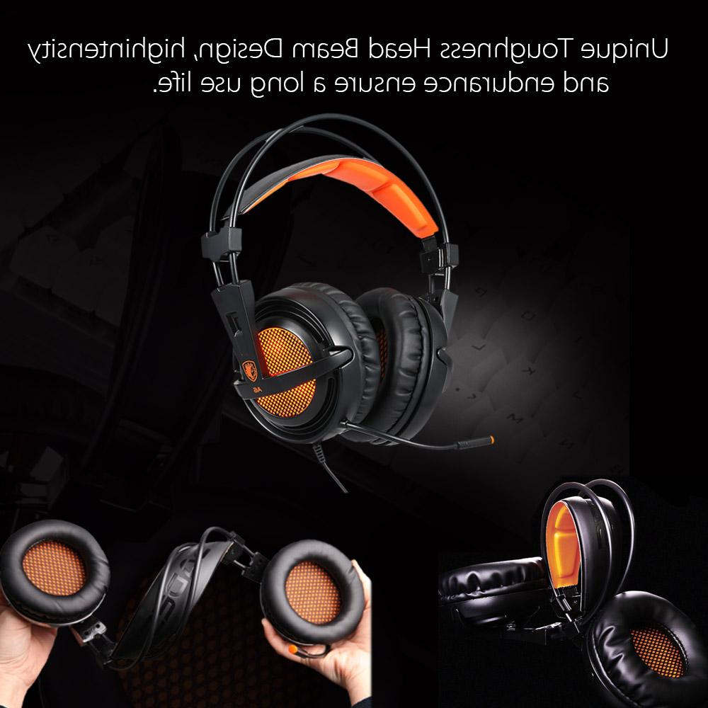 SADES Stereo game over ear with Voice for laptop