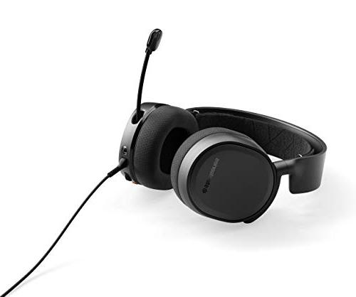 SteelSeries 3 Gaming for PlayStation 4, Xbox One, Nintendo Switch, VR, Android, and -