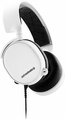 SteelSeries Arctis 3  All-Platform Gaming Headset for PC, Pl