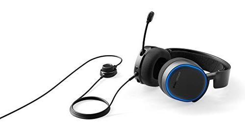 SteelSeries 5 Illuminated DTS v2.0 Surround for PC PlayStation 4 - Black