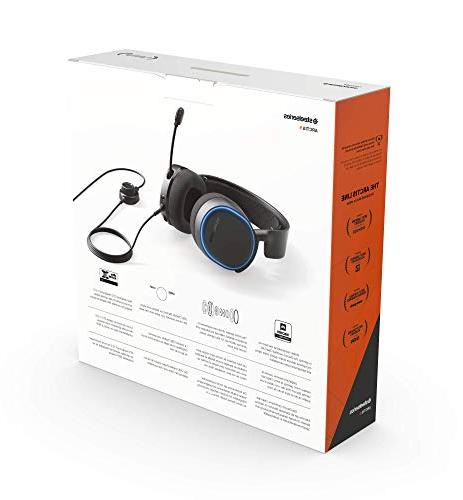 SteelSeries Arctis Illuminated Gaming Headset with DTS Surround for and PlayStation 4