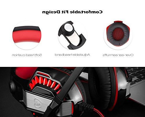 Beexcellent GM-2 Gaming Over Noise Mic Stereo PC Xbox iPad, Laptop Switch