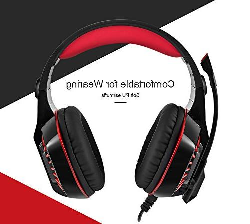 Beexcellent Surround Gaming Noise Mic Stereo Headset VR, Xbox Laptop Switch