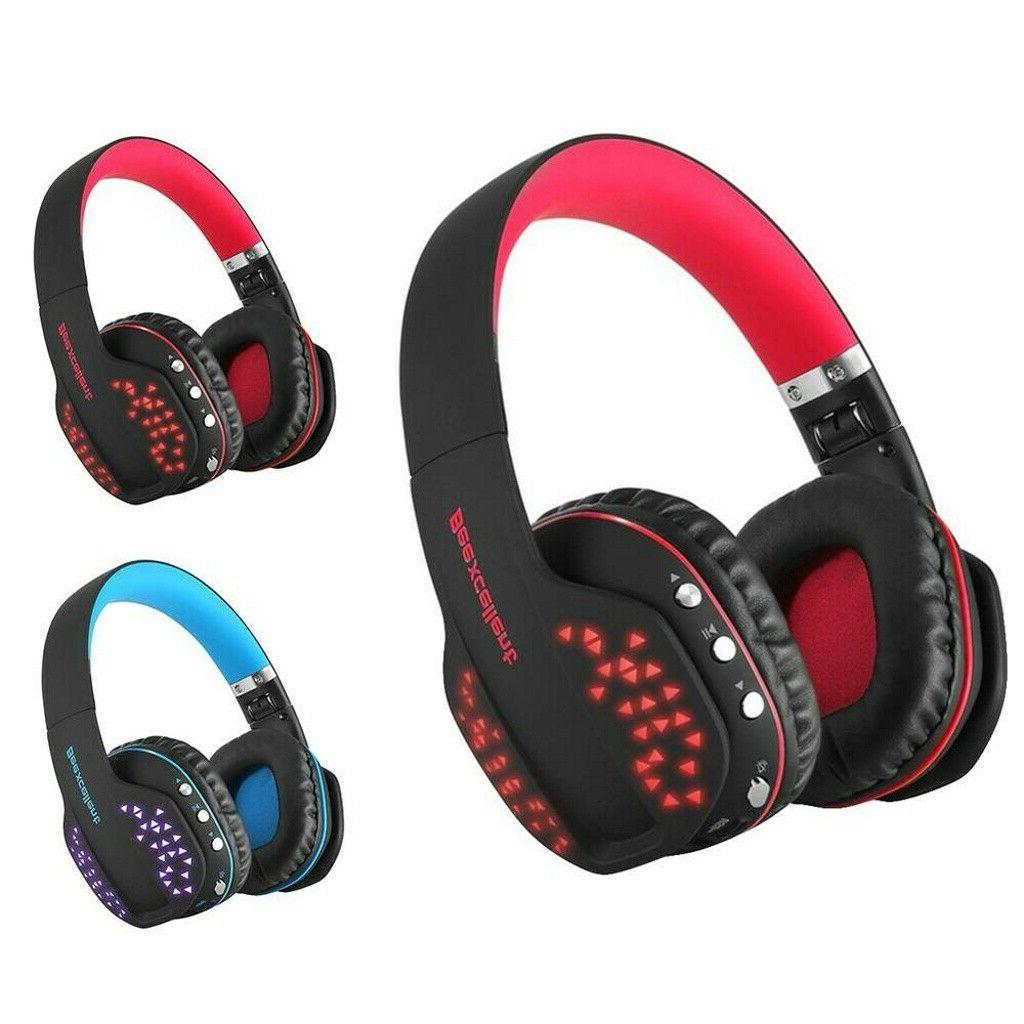 Beexcellent Q2 Bluetooth Wireless Gaming Headset with Mic LE