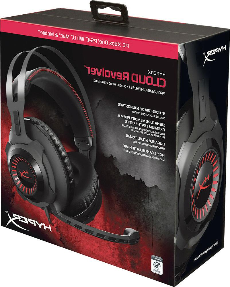 cloud revolver gaming headset for pc xbox