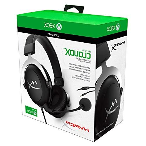 HyperX - Gaming Headset Official Licensed Headset with Detachable Xbox PC, PUBG, Fortnite