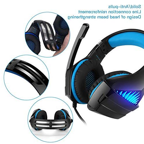 DeepDream GM-5 Noise Cancelling Mic, Led Control Compatible with Nintendo Switch, PlayStation