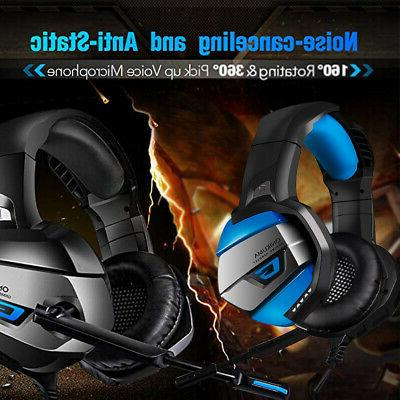 E-sports PC Gaming Headset With LED Lights