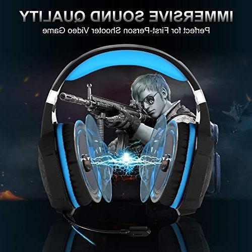 Stereo Mic Over Ear Jack RGB Noise & Control