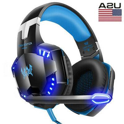 each g2000 stereo bass surround gaming headset