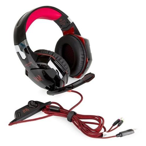 EACH G2000 Stereo Surround Headset for PS4 Xbox