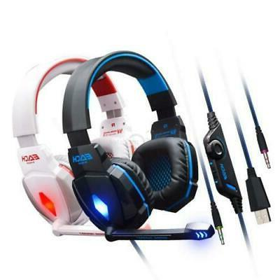 EACH G4000 Headset LED Headphone with