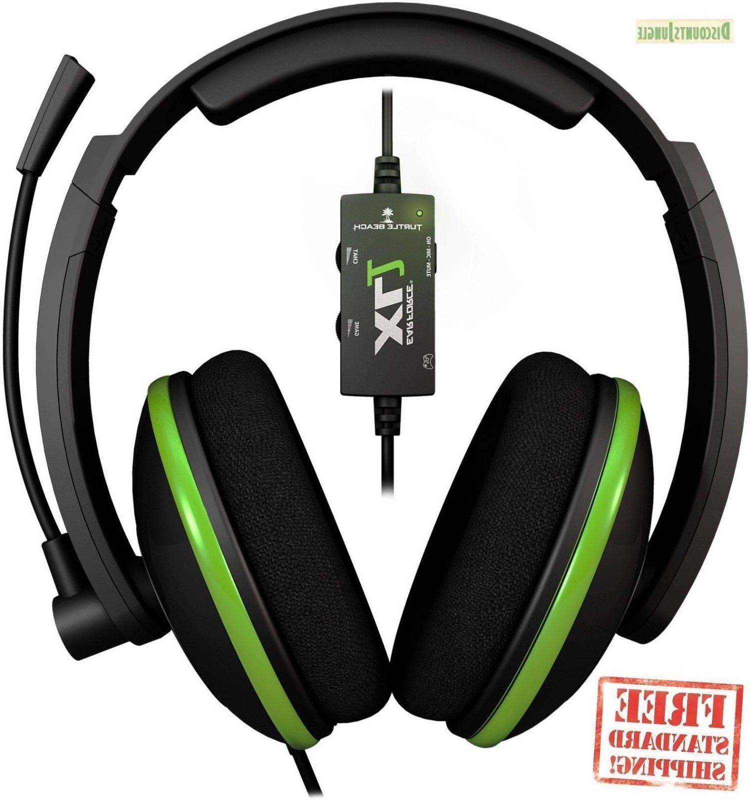 ear force xl1 gaming headset amplified stereo