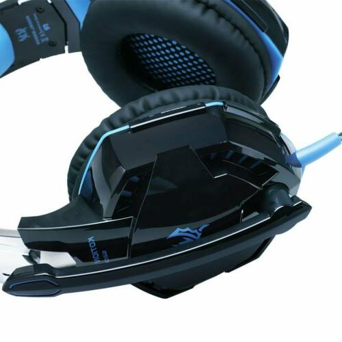3.5mm Gaming LED Headphones For PC Laptop One X