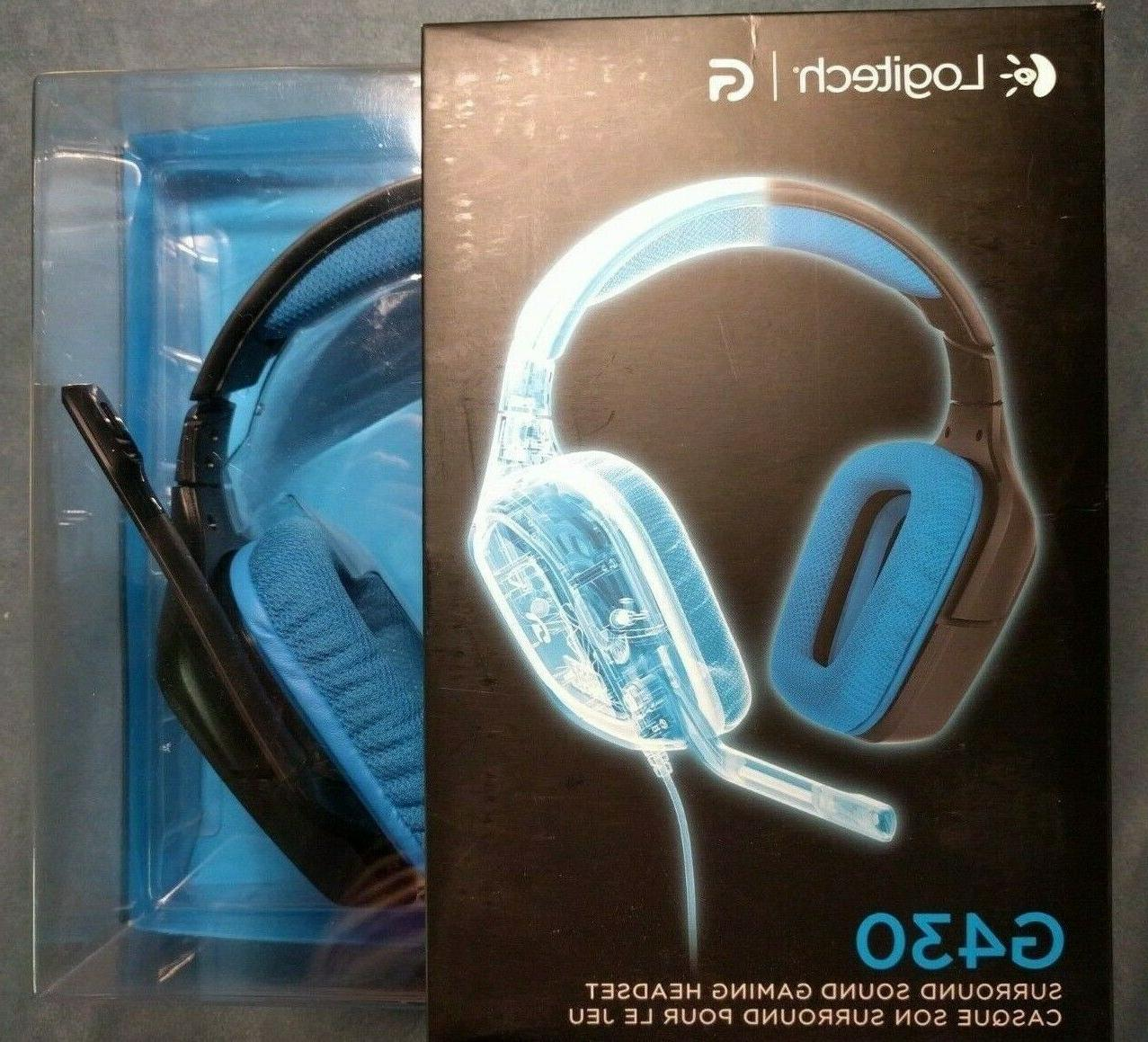 g430 gaming headset new