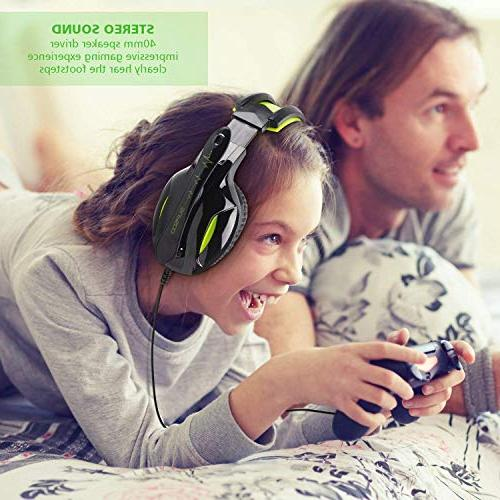 SUPSOO Gaming Wired Ear Headset with Cancelling & Control for Xbox