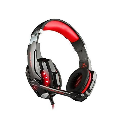 KOTION G9000 Gaming Headphone 3.5mm Headset Cancellation with Mic LED for Mobile Phones