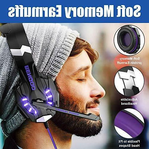G9000 Stereo for PS4 Xbox One Controller Purple