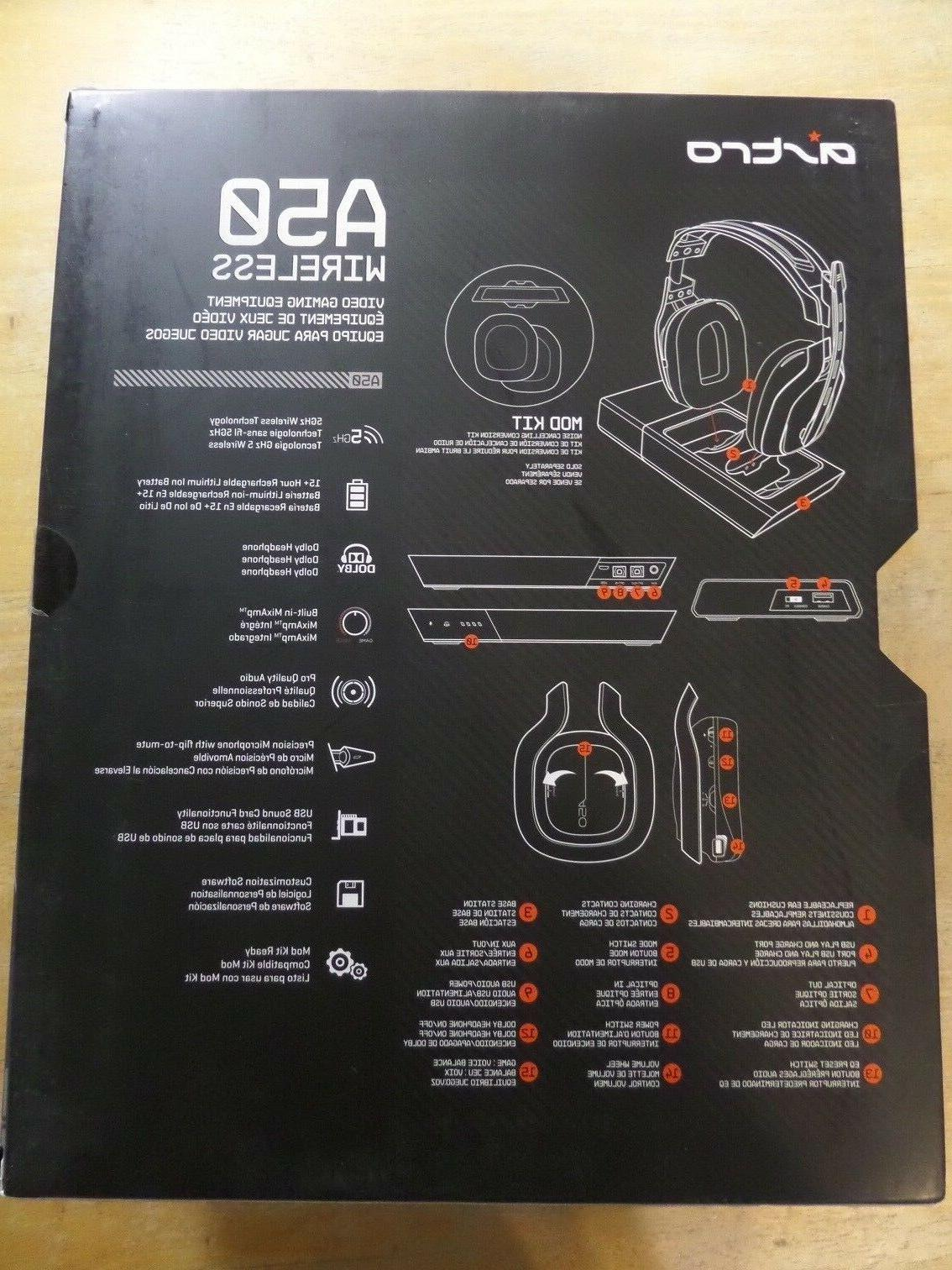 ASTRO Gaming A50 Wireless Dolby Gaming Black/Blue PS4