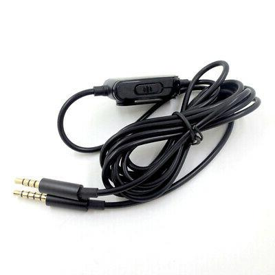 Gaming Headset 3.5mm Audio Cable for Astro A10 A40 Logitech