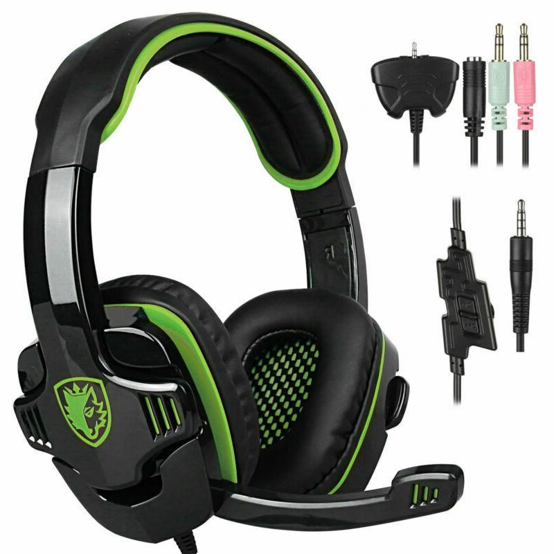 SADES Headset Headphone With For Laptop
