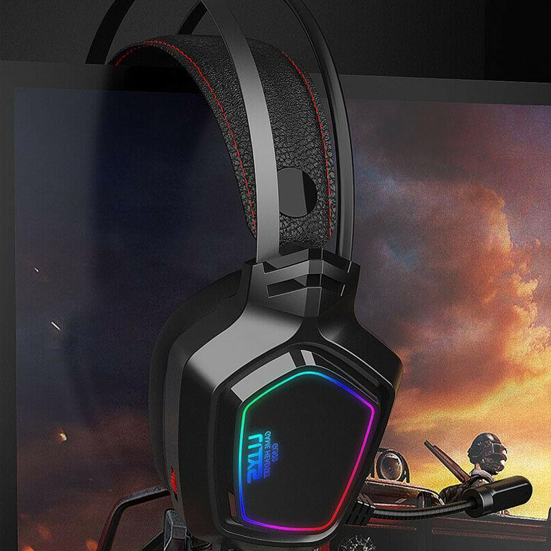 Gaming Headphones Bass Surround For PC