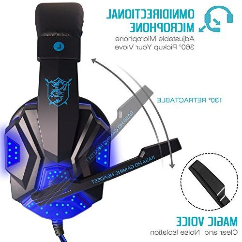 Gaming Headset and Light and 3.5mm Gaming - Control.