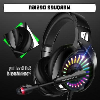 LED Noise Cancelling Mic for PS4 PC
