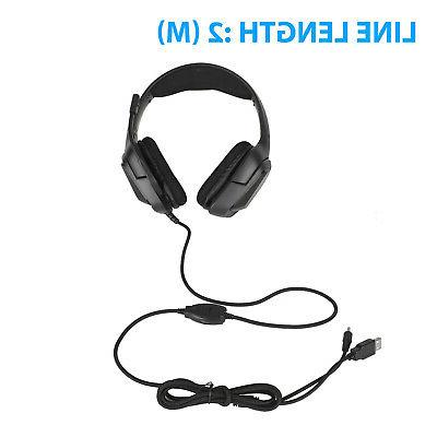 Gaming RGB Sound Headphones 3.5mm For Xbox PS4