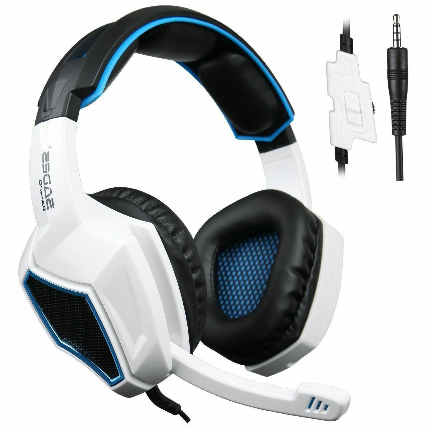 Sades Stereo Headsets Headphones With Mic PS4 NEW Xbox one Xbox