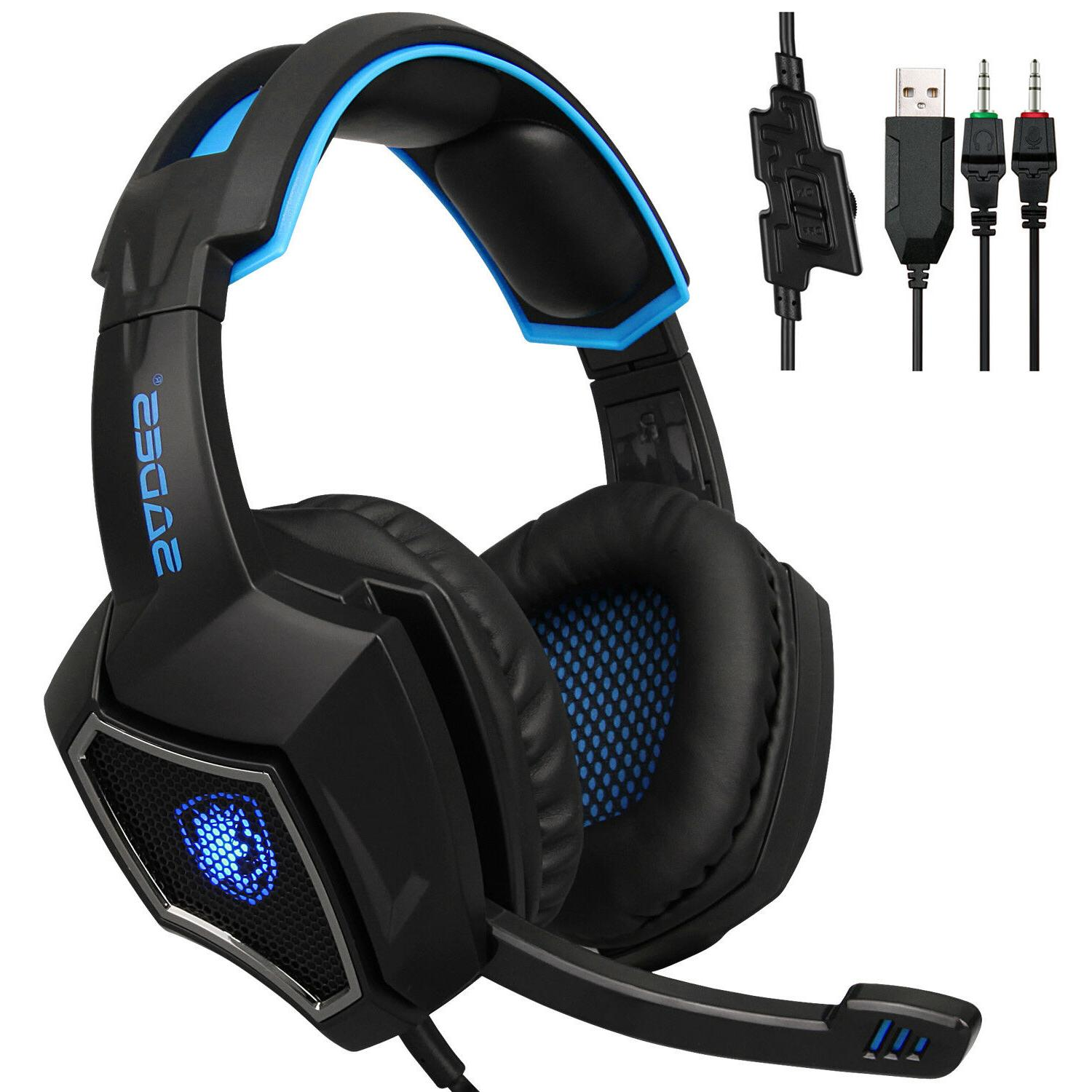 Sades Stereo Headphone 3.5mm For PS4 Xboxone Latop