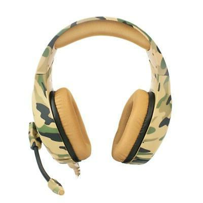gaming headset wired headphone noise reduction stereo
