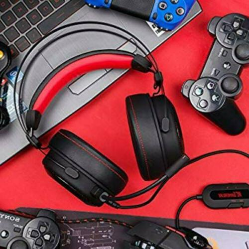 Gaming with Premium 3D Stereo Sound Video Gaming.