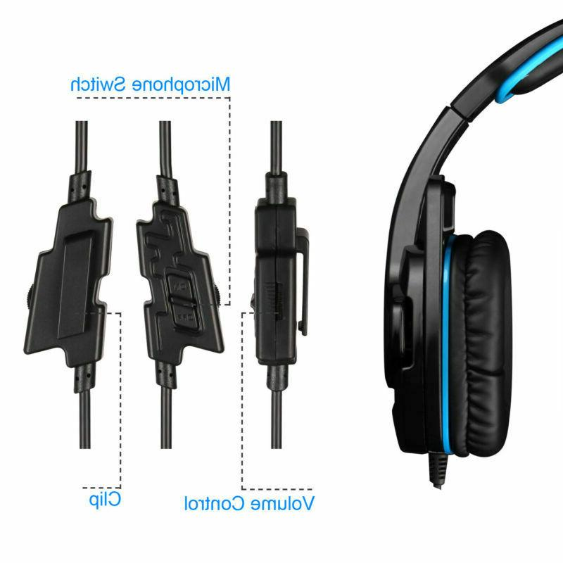 SADES Gaming Headset Headphone For PS4 Laptop xbox