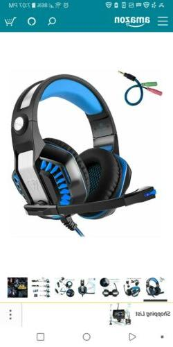 Beexcellent GM-2 Surround Sound Gaming Headset Headband Bass