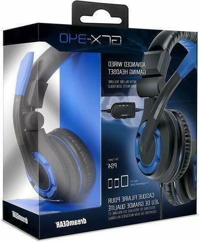 grx 340 bluetooth gaming headset for ps4