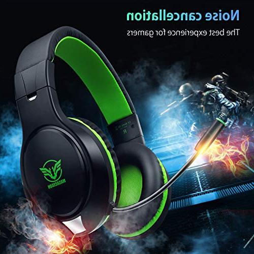 Karvipark for Xbox Switch Noise Cancelling,Bass Surround Stereo with Mic Chat