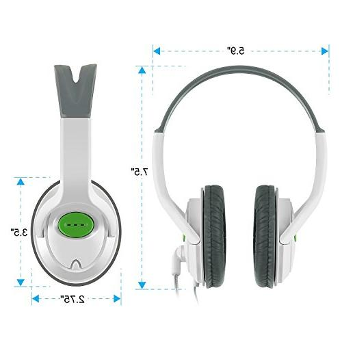 Insten Headset Headphone with Mic with 360