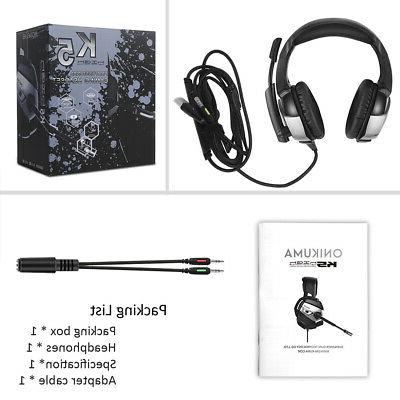 E-sports Gaming For Gaming Headset With Lights