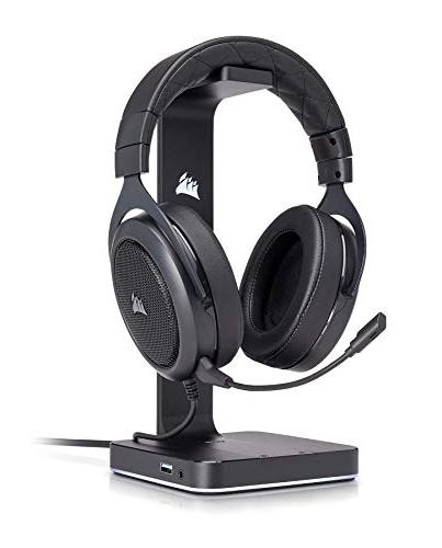 CORSAIR HS50 - Stereo Gaming Headset - Discord Certified with One, PS4, Switch, iOS Carbon