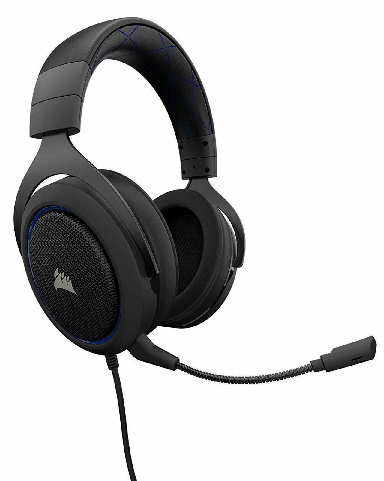 hs50 stereo gaming headset 3 5mm adjustable