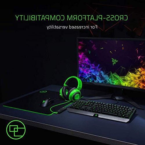 Razer Full Audio Cooling Ear - Gaming Headset with PC, PS4, One, Switch, -