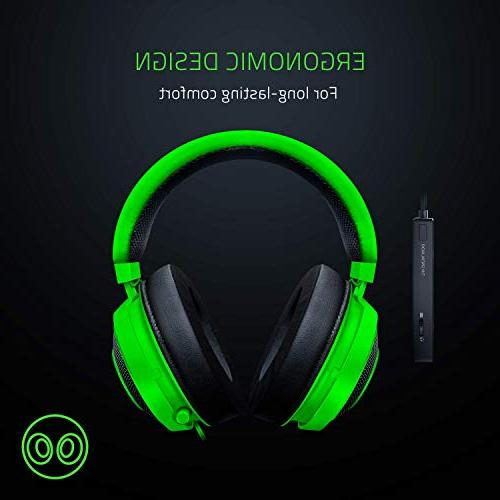 Razer THX Full Audio Control - Gaming with PC, PS4, One, - Green