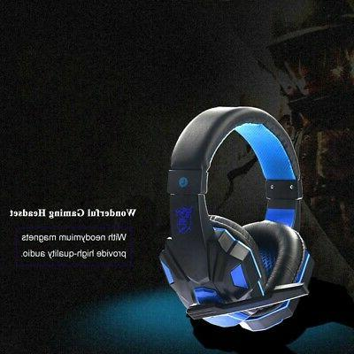 LED Gaming Headphones Stereo For PC